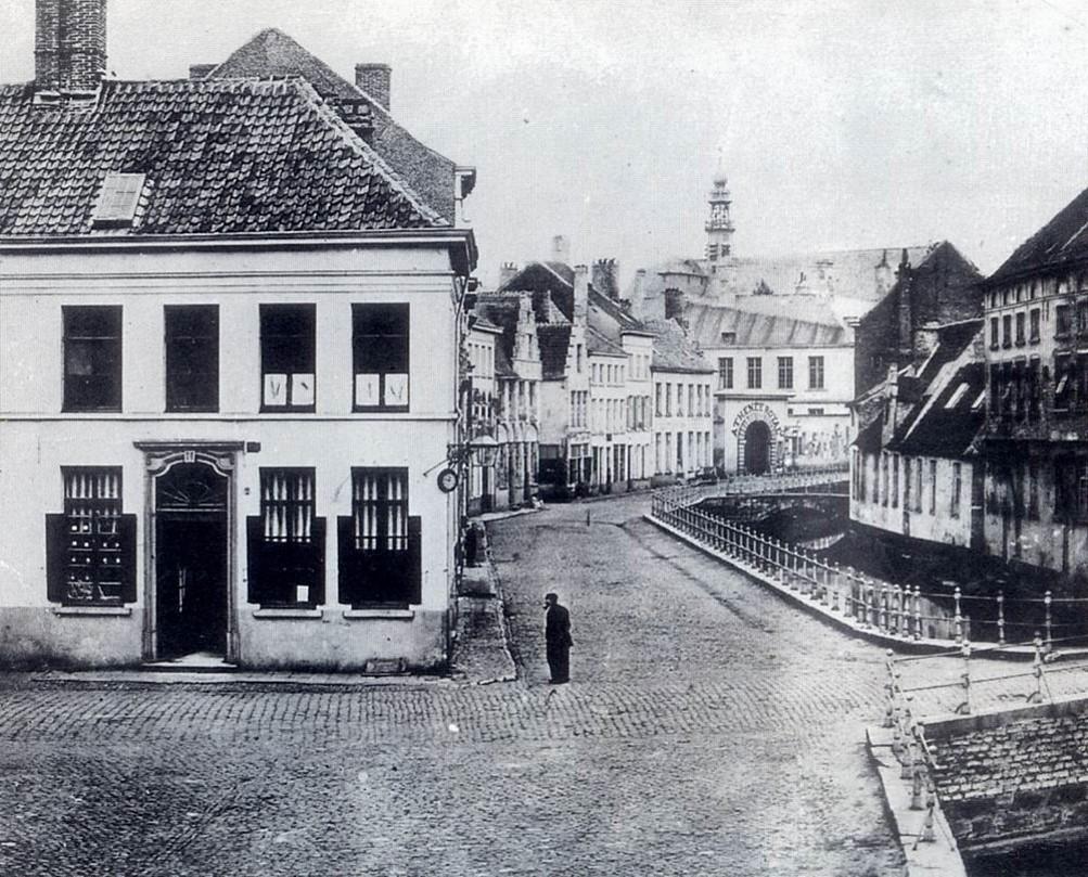 Ottogracht vóór demping
