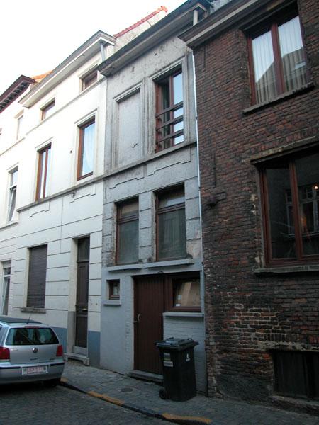 Gelukstraat (zonder nummer). Foto: Dirk Boncquet, juni 2003.